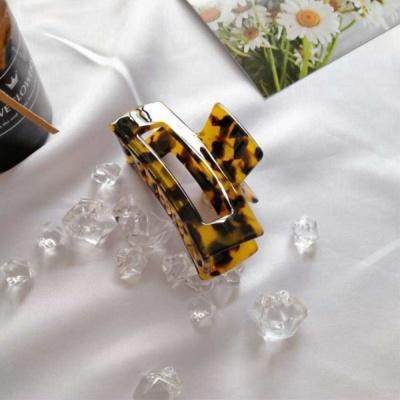 깔끔한 호피 레오파드 집게핀 머리핀 삔 선택 찐호피