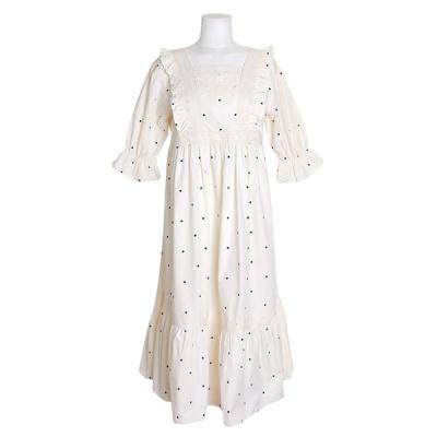 [쿠비카]러블리 스퀘어넥 레이스 원피스 여성잠옷W737