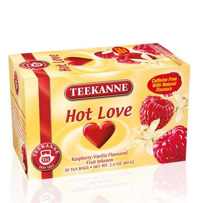 [티칸네] 핫러브 20티백 - 바닐라와 라즈베리의 조화를 이룬 허브티 (아이스티로 시원하게 마셔요~) ICE TEA