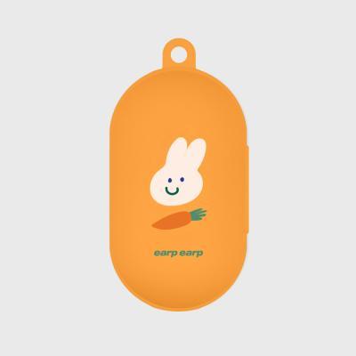 Rabbit carrot-orange(buds jelly case)