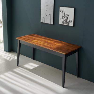 이홈데코 브라우니 원목 테이블 1500