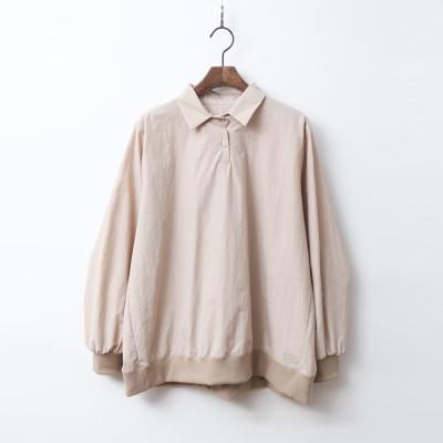 Collar Shirts Sweatshirt