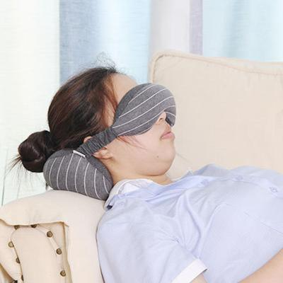 코모도 올인원 낮잠 숙면 눈가리개 안대 목베개