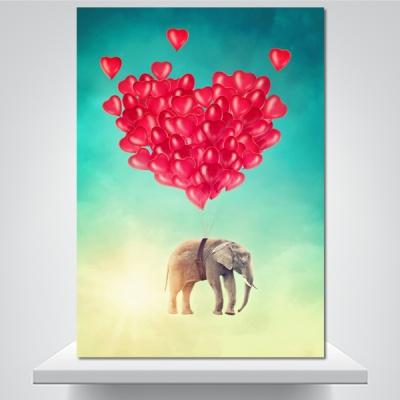 코끼리도 드는 사랑 - 감성사진 폼보드 액자
