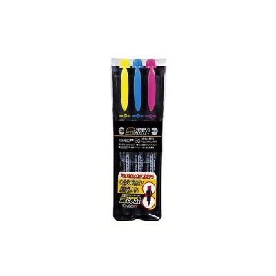 톰보우 트윈 코트 형광펜 3색세트[00137081]