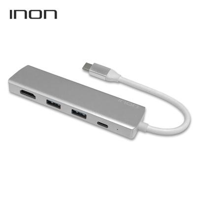 USB C타입 to 3.0 4포트 with HDMI 허브 IN-UH110C