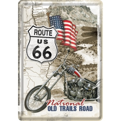 노스텔직아트[10117] Route 66 Old Trails Road