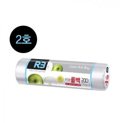 [코멕스산업] (R3) 위생롤백 2호 (200매) 402315