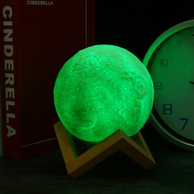 3D 달 무드등(15cm)
