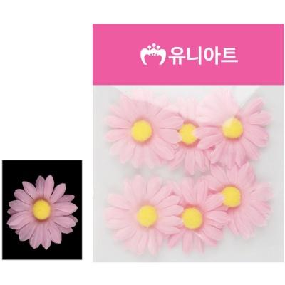 유니아트 (조화꽃) 1500 뿅국화 (분홍)