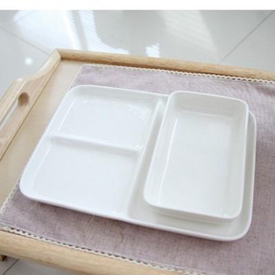 기내접시+사각 식판 3절 세트-2인set