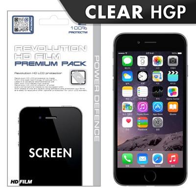 [프로텍트엠/PROTECTM] 아이폰6 iPhone6 4.7인치 레볼루션HD 올레포빅 투명유광 액정보호필름