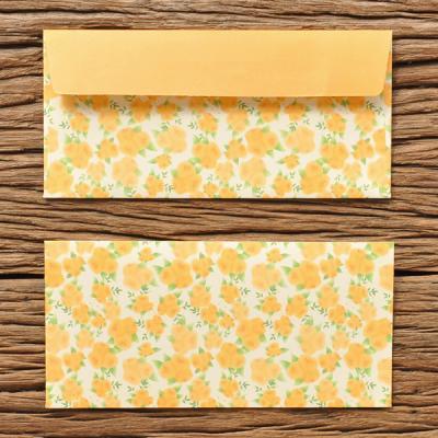 블라썸 봉투 세트 - Yellow 5P