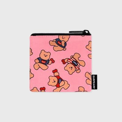Dot dancing bear-pink(미니 파우치)
