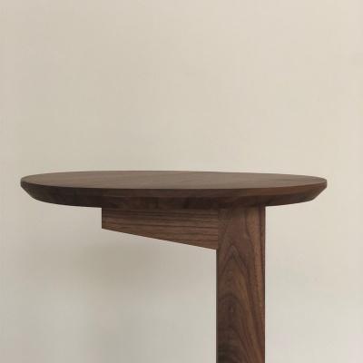 월넛 사이드 테이블