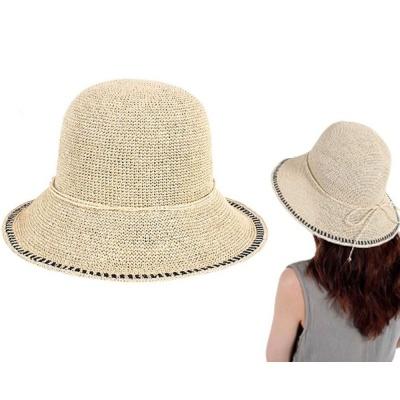 캐주얼 파나마햇 패션 버킷햇 플로피햇 모자 베이지