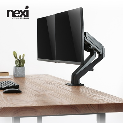 (NEXI) 가스스프링 듀얼모니터 암 거치대 (NX1191)