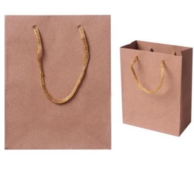 심플 무지 기본 크라프트 종이 쇼핑백 선물 포장 2호