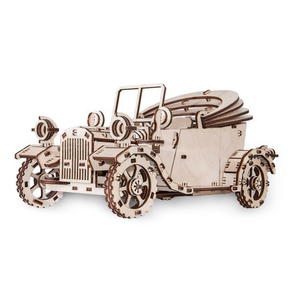 EWA 에코우드아트 3D DIY 입체 나무퍼즐 레트로카