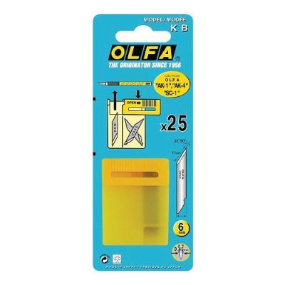 6mm커터날 KB (OLFA) 303478