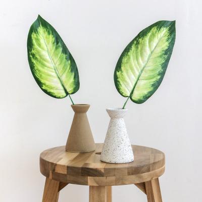 [포홈] 투톤잎 원뿔 화병세트