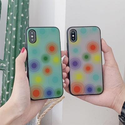 아이폰8 써니 동그라미 카드케이스