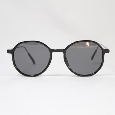 동그란 쁠테 선글라스 (블랙)