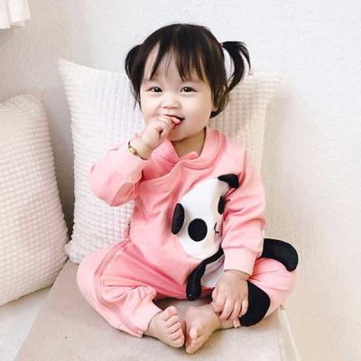 팬더와 오리 유아 우주복(3-24개월) 204072