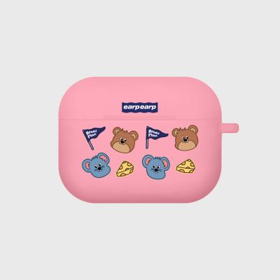 Dot brody and pinn-pink(Air pods pro case)