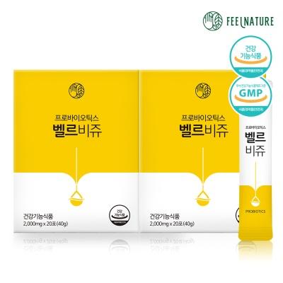 필네이처 프로바이오틱스 유산균 벨르비쥬 2box