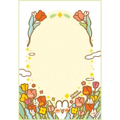 봄 들판 메모패드