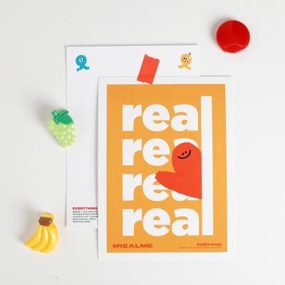 [KEEERI x BFMA] EVERYTHING 엽서 - REALME