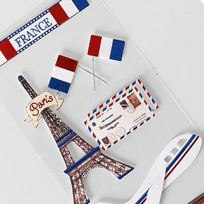 018-ss-0025 / 나라스티커(프랑스)