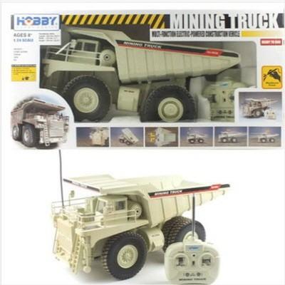 1/24 빅스케일 미닝트럭 RTR R/C모형 (HBE298082GY) 맘모스트럭 중장비 무선모형 RC