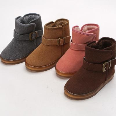 우리 버디라이트털 유아 아동 양털 방한 부츠 신발
