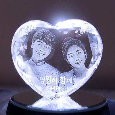 Heart big 하트빅 - 인물입체조각 3D크리스탈