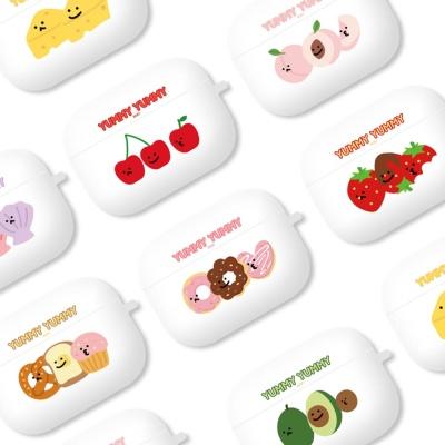 야미 에어팟프로 정품 실리콘 케이스 키링_도넛 CP26