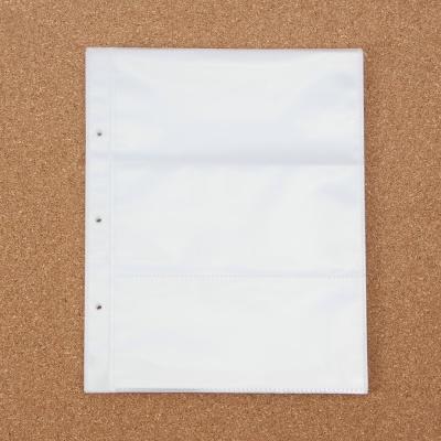 3공 바인더 리필속지 10p / 항공권 영화표 스크랩속지