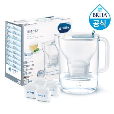 브리타 정수기 스타일XL 3.6L+필터4개월분(기본구성)
