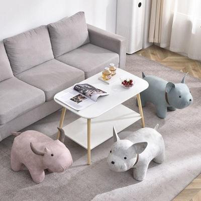 프렌치불독 강아지 스툴의자 카페 인테리어 의자