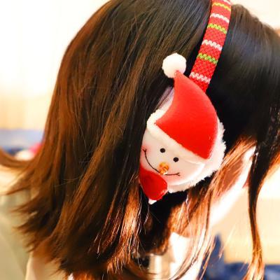 크리스마스 귀마개 (눈사람)