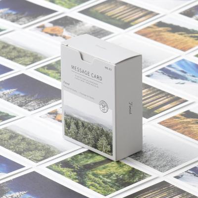 메세지 카드 - 포레스트