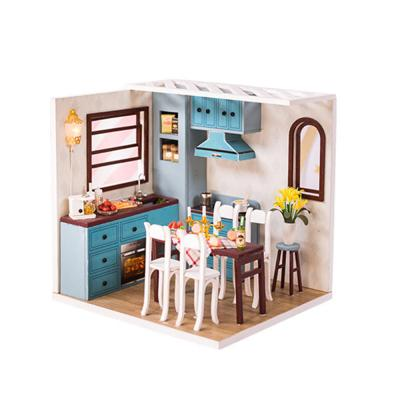 [adico]DIY 미니어처 코지 하우스 - 주방