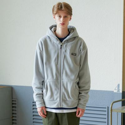 베테제 - Basic Fleece Hood Zipup (gray)