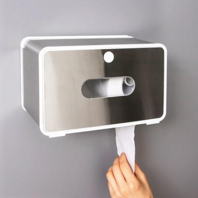 와이드 휴대폰 거치 화장실 휴지 화장지 걸이 케이스