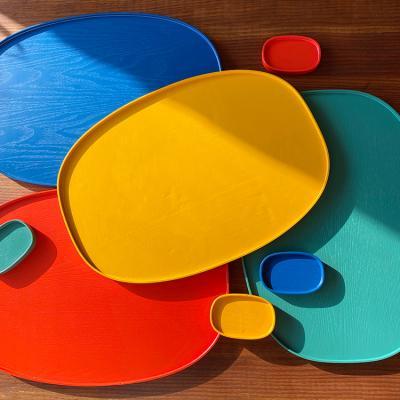 컬러 옻칠 자인트레이 대 4colors