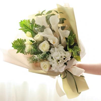 카라앤리시안 꽃다발 돈다발