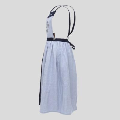 빨간머리앤 자수 앞치마 블루 AHAR 12-11-B