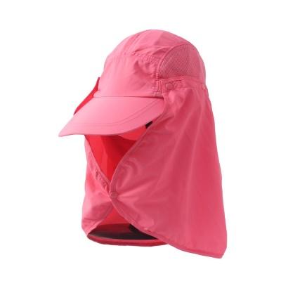 햇빛가리개 플랩 등산모자 핑크 썬캡 패션잡화 챙모
