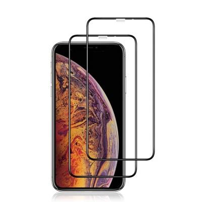아이폰 XS MAX 디펜드 풀커버 강화유리 액정보호필름